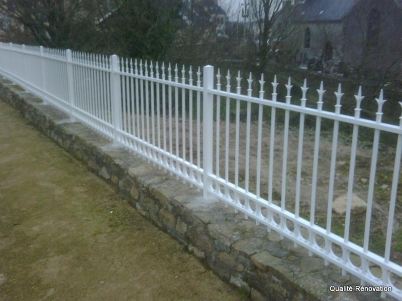 Cl ture qualit r novation qualit r novation for Barriere mur de cloture